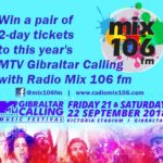 Mix 106 MTV Gibralar competition