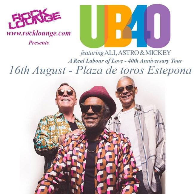 UB40 in Estepona