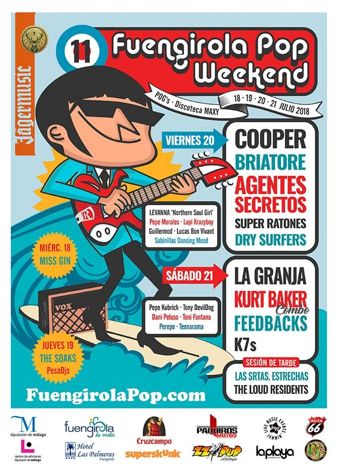 Fuengirola Pop Weekend 2018