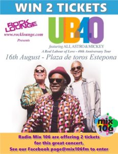 Win tickets to UB40